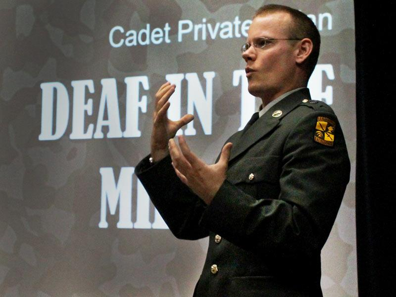 Keith Nolan Deaf In The Military Talk Video Ted Com
